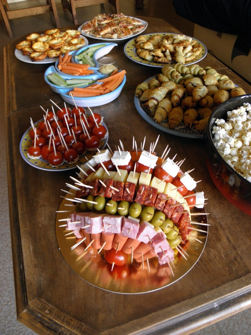 Buffet froid facile - Idee presentation buffet froid ...