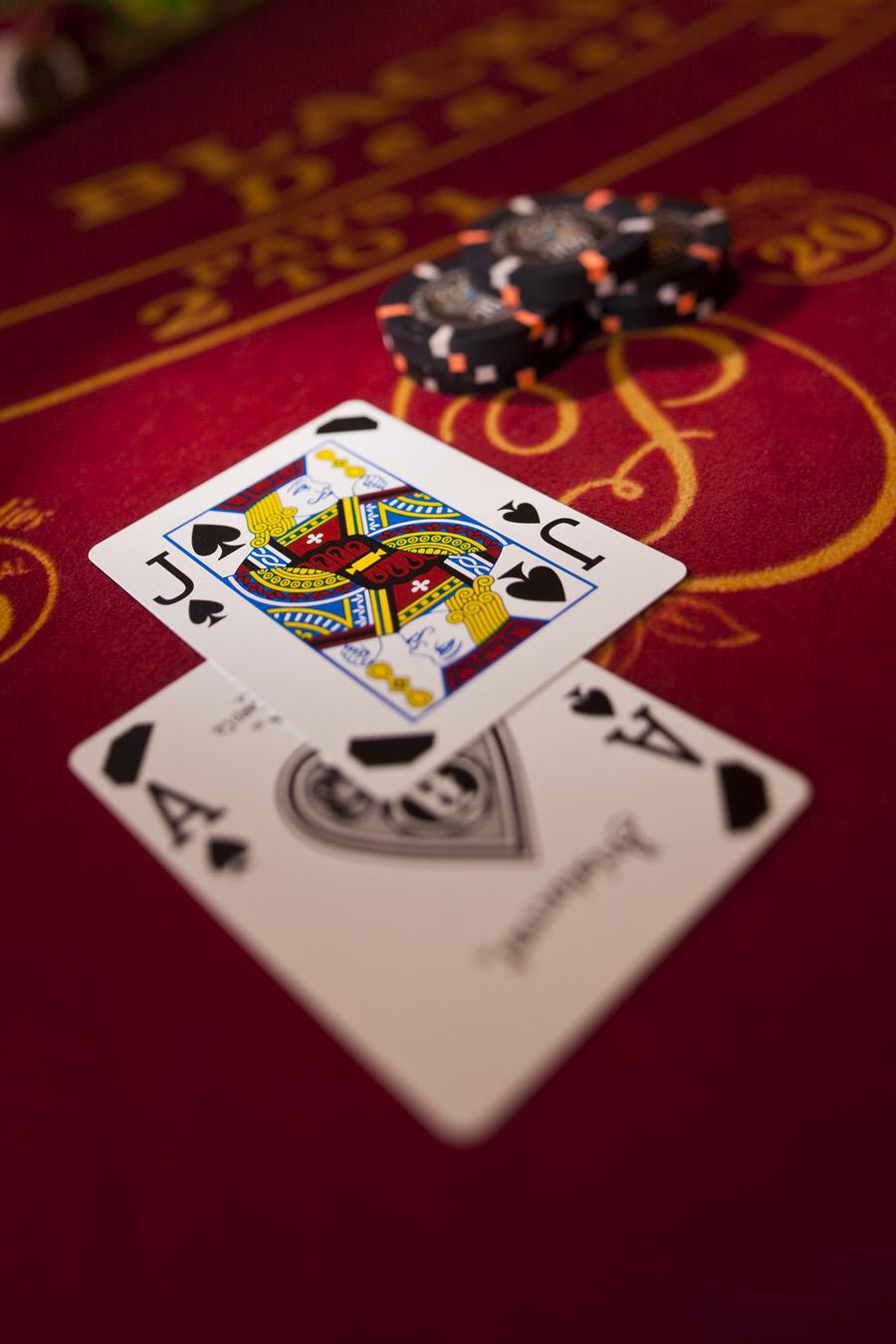 Choisir l'application pour jouer au blackjack