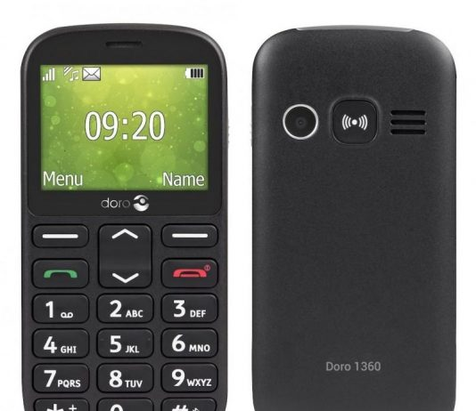 telephone portable pour personne agee doro
